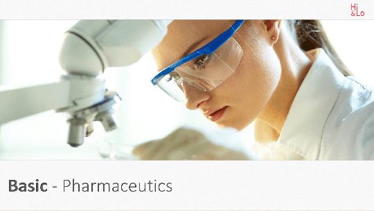 Basic Pharmaceutics