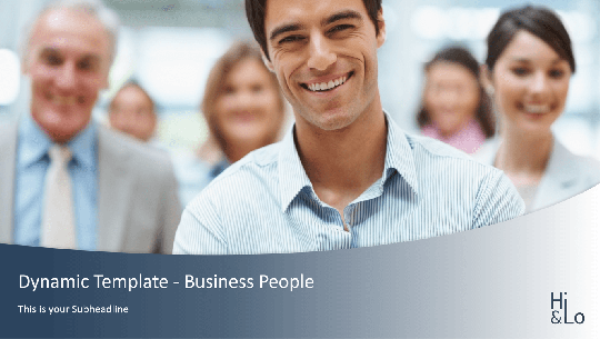 Dynamic Business People