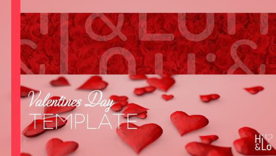 Valentinstag PowerPoint Vorlage