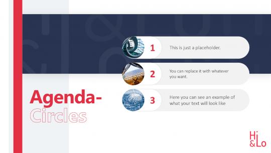 Agenda Toolbox Circles