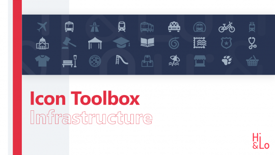 Infrastructure Icon-Toolbox
